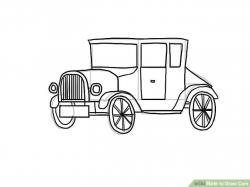 Drawn vehicle cars 2