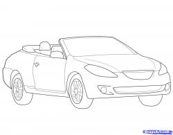 Drawn vehicle dragoart