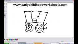 Drawn wagon easy