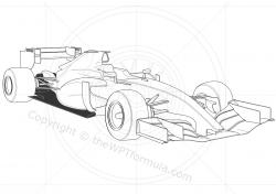 Formula One clipart drawing