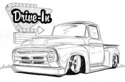 Drawn vehicle lowride car