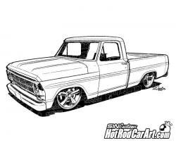 Ford clipart diesel truck