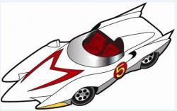 Drawn vehicle speed racer