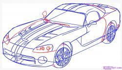 Drawn vehicle viper