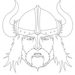Drawn viking viking line