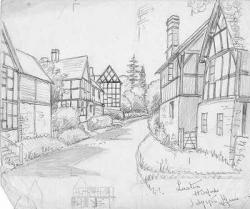 Drawn village