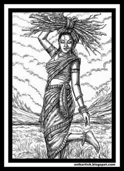 Drawn city tamil culture