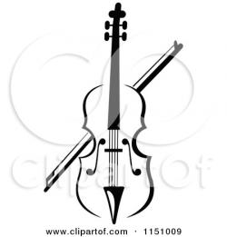Violin clipart scroll