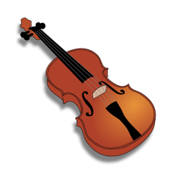 Drawn violin first