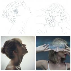 Drawn vireo taylor swift style
