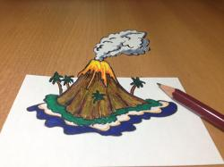 Drawn islet real