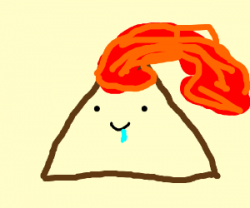 Drawn volcano cute