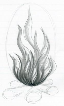 Drawn seaweed easy
