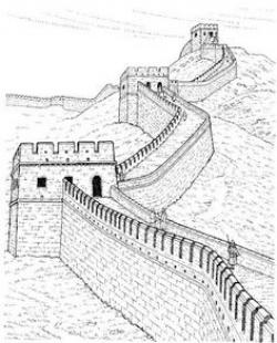 Pakistan clipart pencil sketch