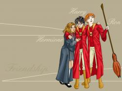 Drawn wallpaper harry potter