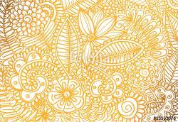 Drawn wallpaper vector