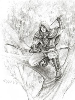 Drawn warrior archery