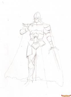 Drawn warrior dynasty warrior