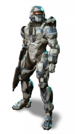 Drawn warrior halo reach