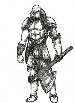 Drawn warrior skyrim