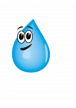 Drops clipart cartoon