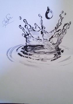 Drawn water
