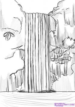 Drawn amd waterfall