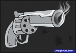 Drawn weapon cool cartoon