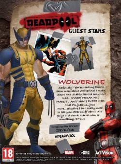 Drawn weapon deadpool game