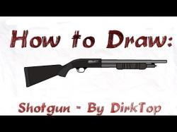 Drawn shotgun easy