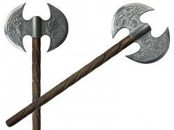 Drawn weapon hatchet