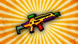 Drawn weapon pixel gun