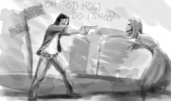 Drawn weapon silent hill