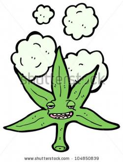 Drawn weed cartoon