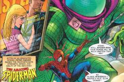 Drawn weed superman