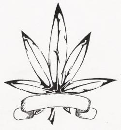 Drawn cannabis cute