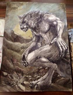 Drawn wolfman west virginia