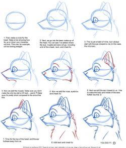 Drawn furry simple