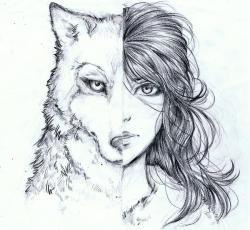 Drawn werewolf found