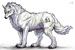 Drawn werewolf huge