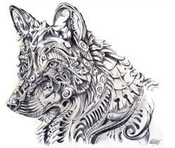 Drawn werewolf irish