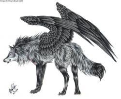 Drawn creature magical creature