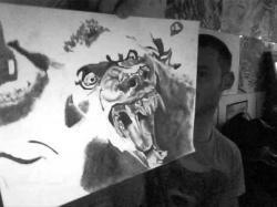 Drawn wolfman van helsing