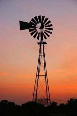 Drawn windmill australian
