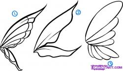 Drawn fairy pixie
