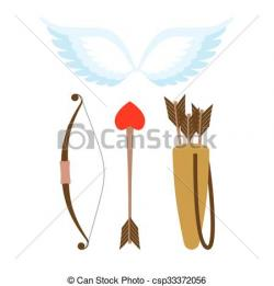 Wings clipart cupid
