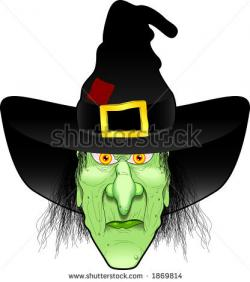 Drawn witchcraft face