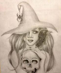 Drawn witchcraft hot