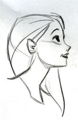 Drawn disney profile