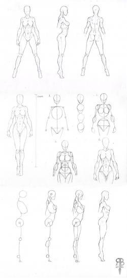 Drawn shapes sketch